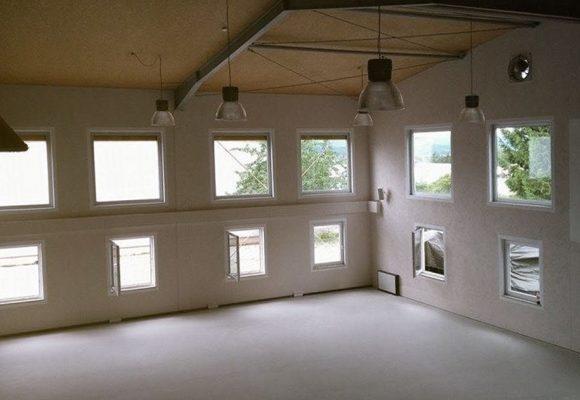 Umbau des Studios